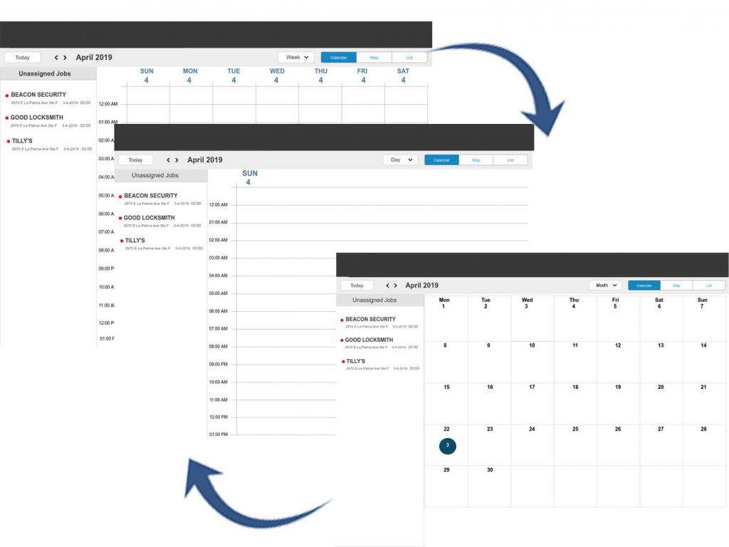 work schedule builder application